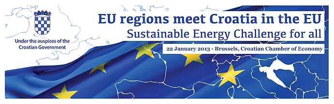 Konferencija EU Regions meet Croatia in the EU – Sustainable Energy Challenge for All